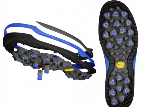 Grande know-how e tecnologia Vibram® G³t